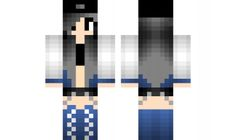 minecraft skin cute-emo-girl Find it with our new Android Minecraft Skins App: https://play.google.com/store/apps/details?id=studio.kactus.girlskins