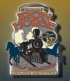Run the Iron Horse! The Iron Horse Half Marathon in Midway, Kentucky H (October)