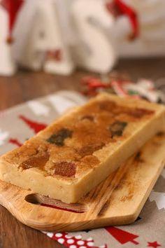 Lola en la cocina: Turrón de mazapán y frutas Marzipan, Banana Colada, Nougat Recipe, Spanish Desserts, Homemade Sweets, Edible Gifts, Sweet And Salty, Raw Food Recipes, Fudge