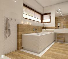 Dom w Opolu - Duża łazienka, styl nowoczesny - zdjęcie od WERDHOME