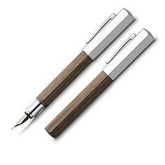 Faber-Castell Ondoro Fountain Pen Smoked Oak