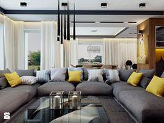 Dom w Aninie Salon - zdjęcie od GR8 Interior Design
