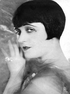 1920s fashion, bob hairstyles, formal hairstyl, mid 1920s, pola negri