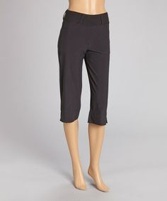 This Black Stroll Capri Pants - Women & Plus by Ryka is perfect! #zulilyfinds
