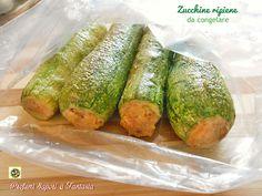 Zucchine ripiene da congelare procedimento facile passo passo