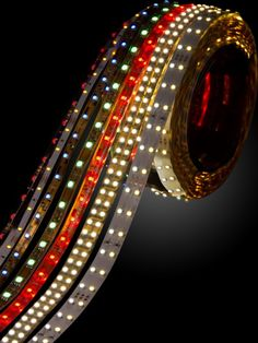 """LED light strips.  Another pinner said, """"Put these on our awning and LOVE THEM!  Very easy to install (has adhesive) and lots of choices for color combinations and flash pattern.  About $30 for a 16' strip."""""""