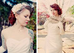 Emily & Kyle's autumnal handcrafted wedding | Offbeat Bride
