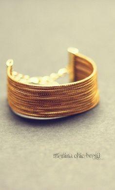 bracelet listra en or vgtal du brsil issu de lartisanat et commerce quitable