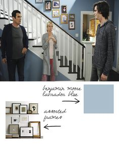 Modern family dunphy floorplan house plans pinterest for Modern family dunphy house decor