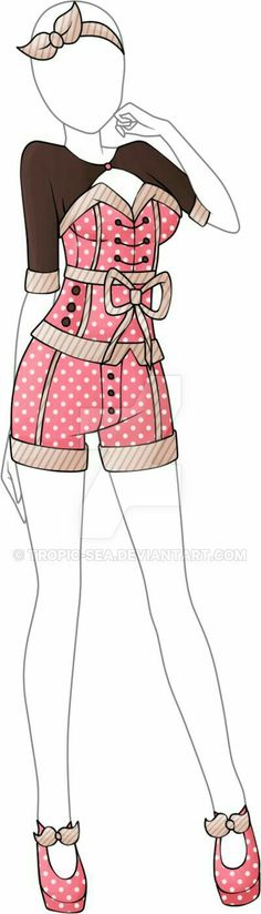 Dress Adoptable 04 - Closed by Tropic-Sea. on - Outfits Anime Outfits, Dress Outfits, Cool Outfits, Dress Drawing, Drawing Clothes, Style Feminin, Anime Dress, Illustration Mode, Fashion Art