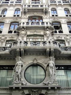 Grand art nouveau building, Trieste (Italia)