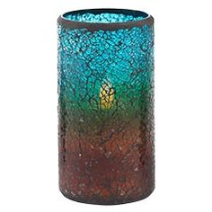 This is the candle I told you about Sunday. The rust color was more like only an inch on the bottom.