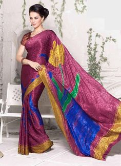 Buy 1 Get 1 Free Ethnic Sari Dress Indian Bollywood Designer Pakistani Partywear #Tanishifashion