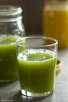 Juice Week: Lean & Green | With Style & Grace