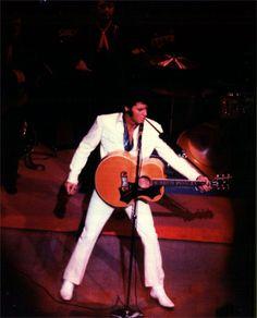 AUG 26 1969 Las Vegas International wearing white herringbone suit. Very beginning of Vegas era, top form