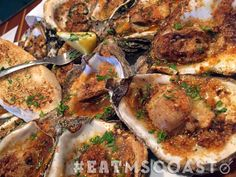 50 place to eat on the Mississippi Coast 2017 Gris Gris Oysters at Bacchus on the Beach in Pass Christian