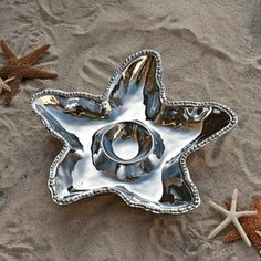 Starfish Chip and Dip Bowl by Beatriz Ball.
