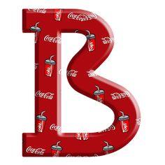 Sussurro de Amor: Alfabeto Coca cola Alphabet And Numbers, Alphabet Letters, Typography, Coke, Drinks, Christmas, Fun, Coca Cola Products, Hush Hush