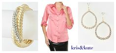 Pink and Gold Bliss!  http://www.krisandkate.com/dealoftheday.html