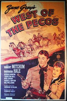 West Of The Pecos with Robert Mitchum