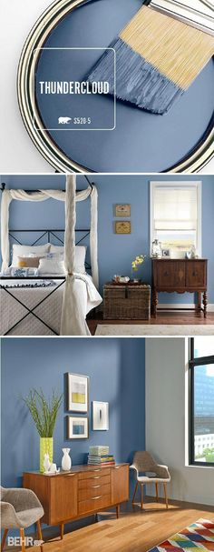 Accent Wall Ideas You'll Surely Wish to Try This at Home Accent Wall Ideas You'll Surely Wish to Try This at Home Bedroom, Living Room, Ideas, Painted, . - Accent Wall Ideas You'll Surely Wish to Try This at Home Behr Paint Colors, Bedroom Paint Colors, Paint Colors For Living Room, Paint Colors For Home, House Colors, Living Room Designs, Living Room Decor, Bedroom Decor, Bedroom Ideas