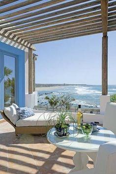 Advice on coastal decor, create your own beach house. Cottages By The Sea, Beach Cottages, Coastal Homes, Coastal Living, Beach Homes, Coastal Cottage, Coastal Style, Coastal Decor, Outdoor Spaces