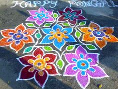 Do you have to try something new with freehand rangoli designs? For inspiration, check out these 17 Simple free hand Rangoli ideas. Rangoli Patterns, Rangoli Ideas, Rangoli Designs Diwali, Diwali Rangoli, Rangoli Designs With Dots, Rangoli With Dots, Beautiful Rangoli Designs, Indian Rangoli, Diwali Craft