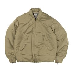 Yeezy Season One Nylon Bomber in Elm