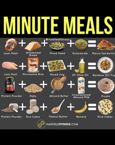 shake to lose weight peanut butter ? PIN this if you find meal prepping hard at times. Make these convenient meals in minutes if your goal is to lose fat and or gain lean muscle! Fast Healthy Meals, Healthy Meal Prep, Healthy Snacks, Healthy Eating, Tasty Meals, Diet Meals, Healthy Dishes, Healthy Weight, Healthy Tips