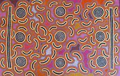 Aboriginal Art Janice Collins Bush Seed Aboriginal Culture, Aboriginal Art, Kunst Der Aborigines, Sand Painting, Indigenous Art, Textures Patterns, Art Blog, Pattern Design, Contemporary Art