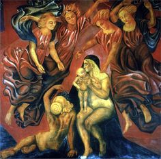 José Clemente Orozco was a Mexican painter, who specialized in bold murals that established the Mexican Mural Renaissance together with murals by Diego Rivera, David Alfaro Siqueiros, and others