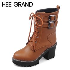 >>>HelloHEE GRAND Women Ankle Boots 2016 Brand Fall PU Leather High Heels Boots Woman Buckle Lace Up Shoes Woman Size Plus 35-43 XWX4168HEE GRAND Women Ankle Boots 2016 Brand Fall PU Leather High Heels Boots Woman Buckle Lace Up Shoes Woman Size Plus 35-43 XWX4168The majority of the consumer reviews...Cleck Hot Deals >>> http://id748653012.cloudns.ditchyourip.com/32711905880.html images