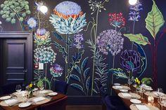 'Allium' mural at Church Street Tavern