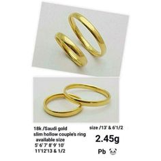 Shopee Gold Wedding Rings, Gold Rings, Couple Rings, 9 And 10, Jewelry, Jewels, Schmuck, Jewerly, Jewelery