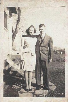1947ish Twyla Heil and Ralph Keller