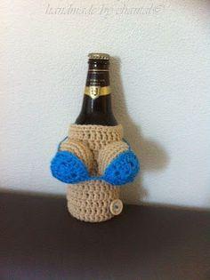 made by home: Boob cozy voor bierflesje