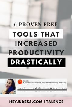 6 proven free tools that increased productivity | blog automation