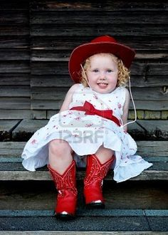 Ava has got to have these red boots with her flower girl dress (NOT this dress!)