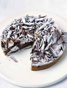 This classic French chocolate tart is a little effort to make, but the results are spectacular. It makes a great Christmas centrepiece too, with a dusting of snowy icing sugar
