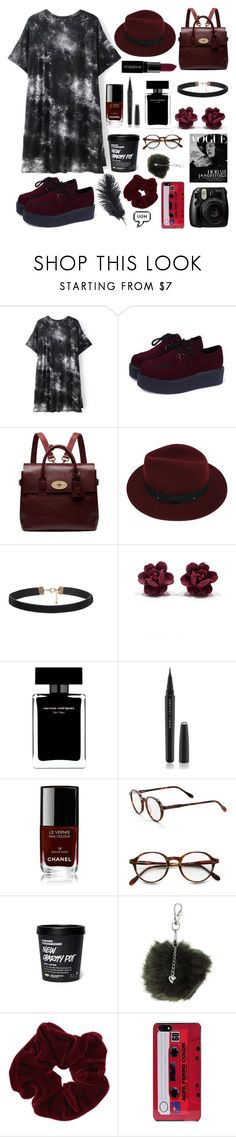 """""""i will give everything i own"""" by skittlebum ❤ liked on Polyvore featuring Mulberry, Sans Souci, Narciso Rodriguez, Smashbox, Fujifilm, Marc Jacobs, Chanel, Corinne McCormack, Dorothy Perkins and Miss Selfridge"""