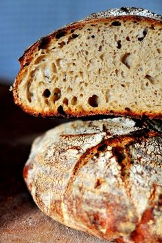 48-Hour Italian Rustic Sourdough Loaf with Kamut [Italian folding technique.]