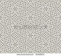 Arabesque. Geometric seamless pattern. Vector Illustration.
