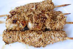 RECIPAY.COM - Brochettes de poulet asiatiques sucrées salées