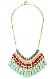 It's Gonna Bead Me Necklace. Youve been on the prowl for a stylish accessory that will make a statement, and - guess what? #multi #modcloth