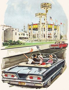 Fifties Family Sight-seeing