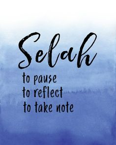 Selah Pause Reflect Take Note Christian Wall Art Blue Christian Images, Christian Wall Art, Yoga Quotes, Yoga Sayings, Grace Tattoos, Jesus Wallpaper, Meant To Be Quotes, Scripture Wall Art, Frases
