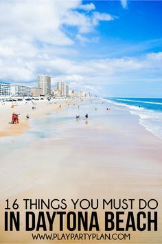 16 Awesome Things To Do In Daytona Beach Florida Vacation Beaches