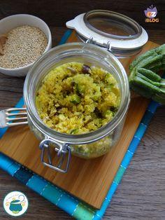 quinoa con zucchine e olive