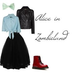 """""""Alice in Zombieland"""" by nobentspines on Polyvore"""