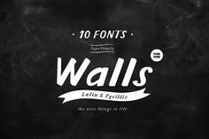 TT Walls by TYPETYPE on @creativemarket